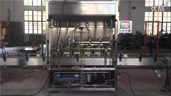 1-5Л аутоматска машина за пуњење боца у клипу