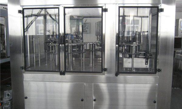 Пнеуматска машина за пуњење Мала машина за течно пуњење, Цена полуаутоматске машине за пуњење