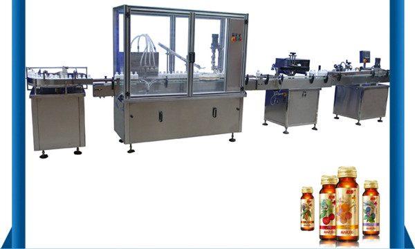 Кина Машина за аутоматско пуњење течних флаша са медом