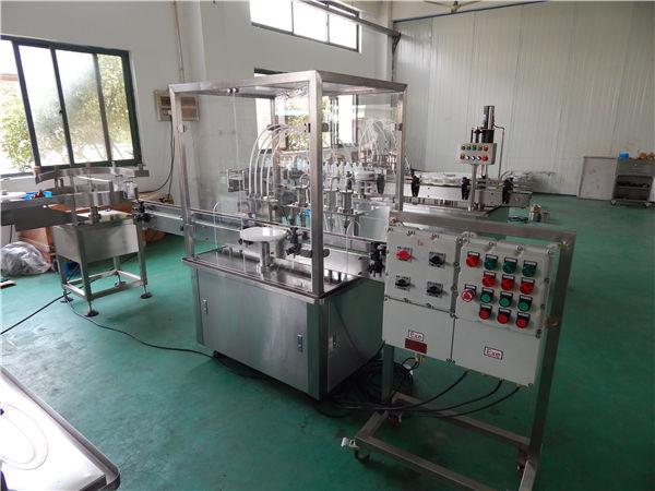 Аутоматска машина за пуњење високих вискозитета у течност