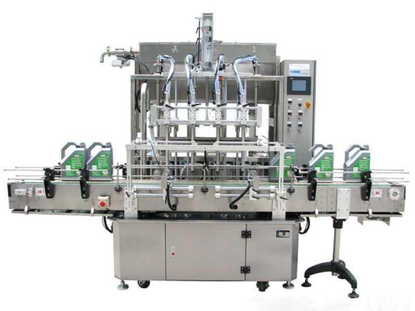 Машина за пуњење течних детерџената са високом квалитетом течности за прање течности