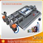 Полуаутоматска машина за пуњење корозивних течних течности