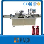 Полуаутоматска машина за вакуумско пуњење течним течностима ниска