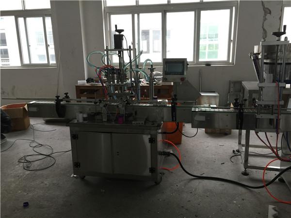 Аутоматска машина за пуњење течних клипа од 50мл до 1Л