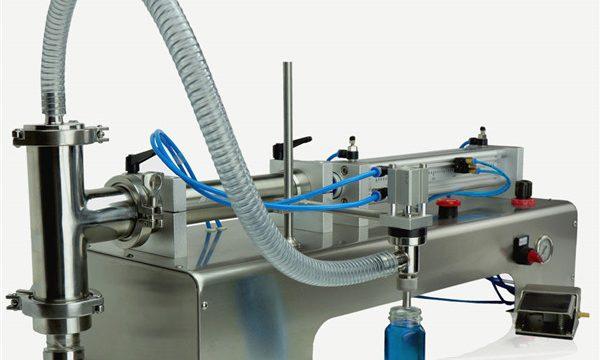 Пнеуматска управљачка машина за пуњење уља са двоструким главама