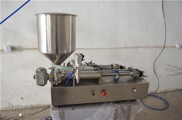 Полу-аутоматска машина за ручно пуњење уља козметиком