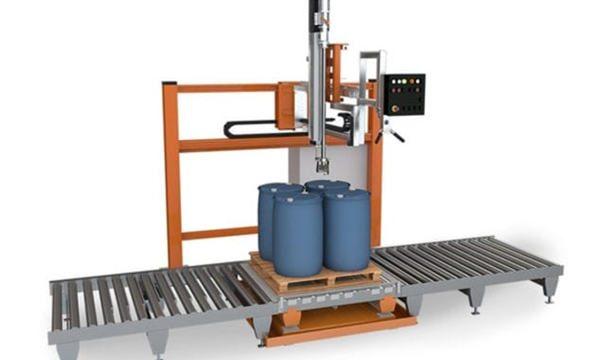 Машина за пуњење течних течности од 200 л
