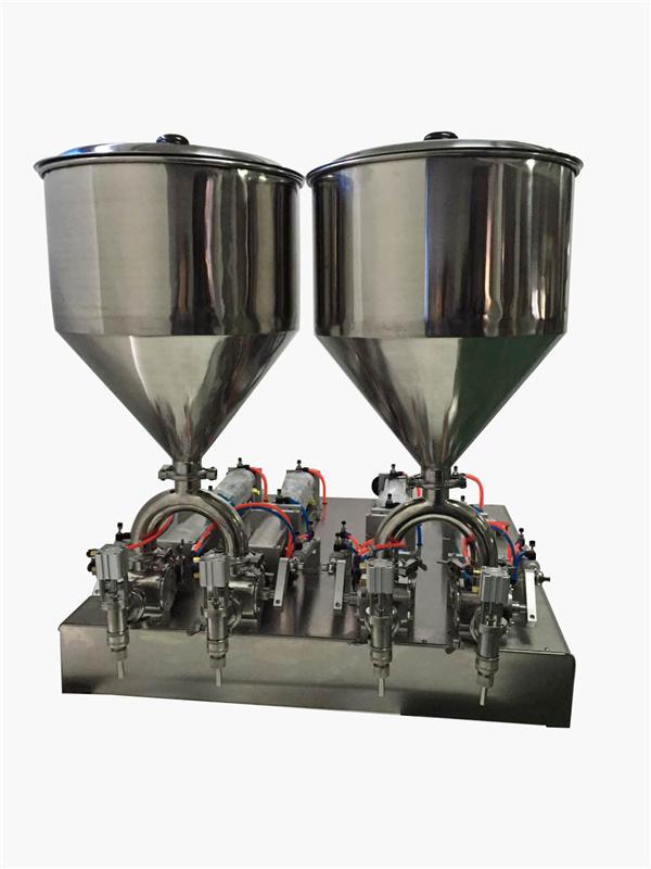 Трајна полуаутоматска машина за пуњење кремама