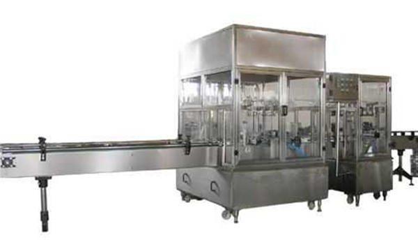 Потпуно аутоматска линија машина за пуњење течног сапуна