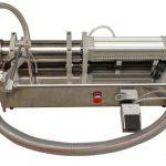 Полутоматска машина за пуњење течног меда високе вискозности