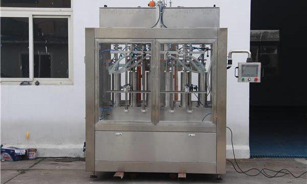 Аутоматска машина за пуњење боца са џемом