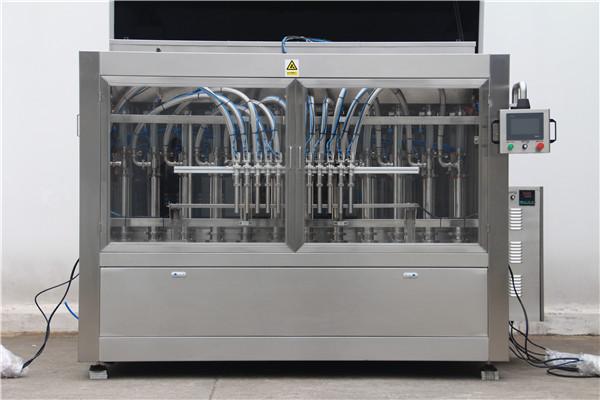 Аутоматска машина за пуњење боца са високим волуменима
