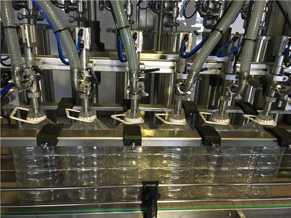 Конкурентска фабричка машина за пуњење биљног уља од 5 л