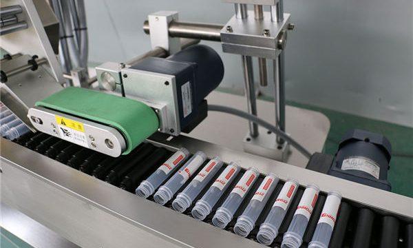 Хоризонтална машина за етикетирање бочица са аутоматским убризгавањем