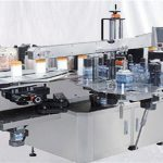 Стаклена машина за површинску налепницу са бочицама парфема