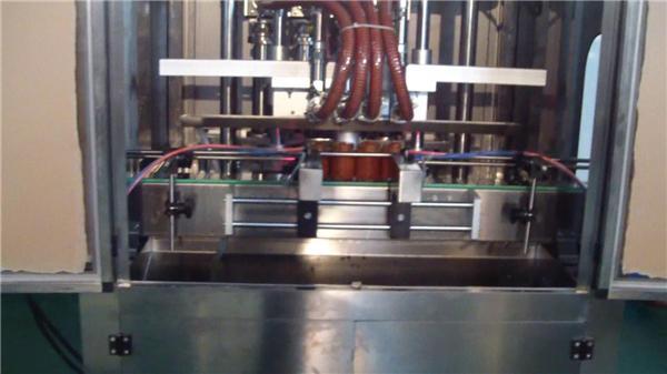 Аутоматска машина за пуњење сока од бибера