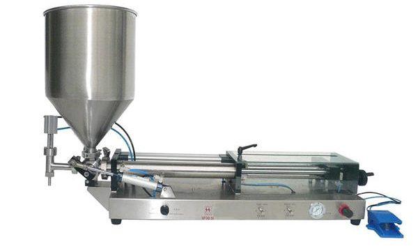 Полутоматска машина за пуњење кечапа