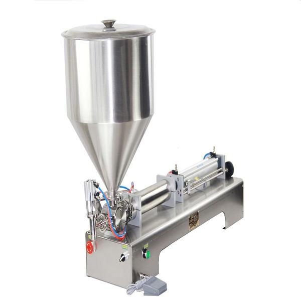 Пнеуматска машина за пуњење течног детерџента сапуном са течним шампоном и гелом за туширање