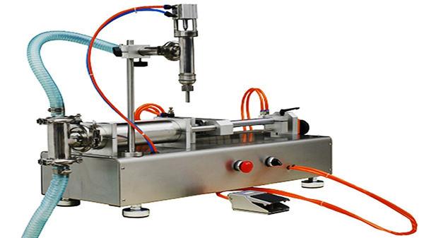 Пнеуматска машина за пуњење крема са двоструким главама 100-1000мл