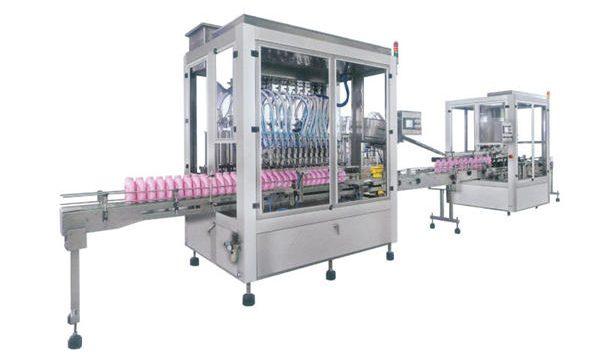 Потпуна аутоматска машина за пуњење текућег сапуна са детерџентом