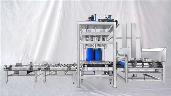 Прилагодљива машина за аутоматско пуњење серије 100 до 1000 Л капацитета ЕСДФ