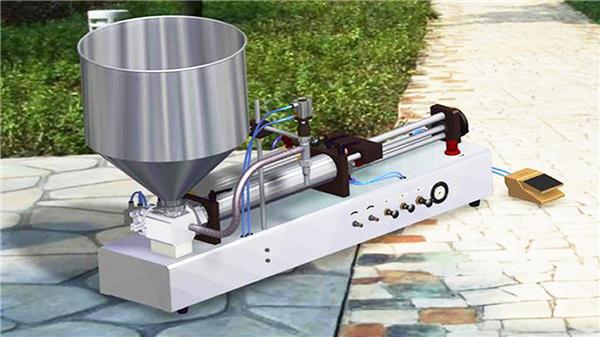 Полу-аутоматска машина за пуњење зубне пасте