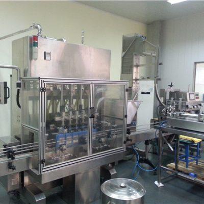 Аутоматска машина за пуњење моторним уљем са 6 глава