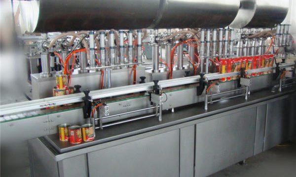Двострука глава са аутоматском машином за пуњење Цхили пасте