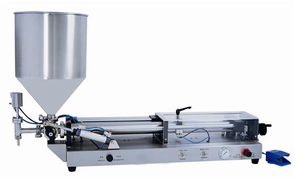 Полуаутоматска машина за пуњење пасте за 3мЛ-5Л