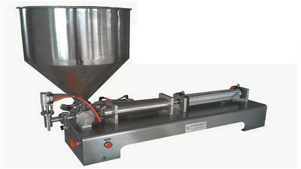 Полу-аутоматска машина за пуњење вертикалне пасте