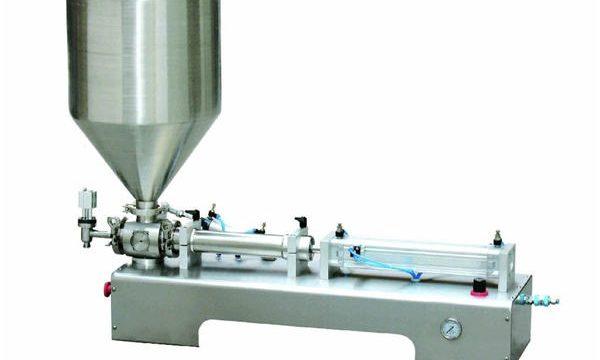 Пнеуматска машина за пуњење клипа, Машина за пуњење густим кремама
