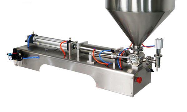 Полу-аутоматска машина за пуњење крем 100-1000мл